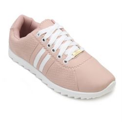 Tênis Star Feet Tratorado SF18-SF001 Rose-Branco