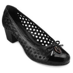 Sapato Sense AS18-643251 Gamboa Preto TAM 40 ao 44