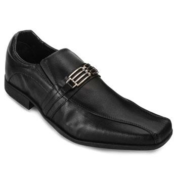 Sapato West Line Masculino 6100 Preto Fosco TAM 44 ao 50